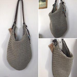 The Sak Bags - NWT SakRoots Crocheted Hobo Bag